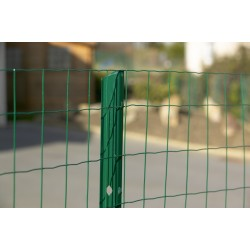 GRILL SOUDE MAILLE 100X50 FIL 2.5mm H 1.00M 25M VERT