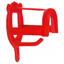 PORTE BRIDON METAL ROUGE