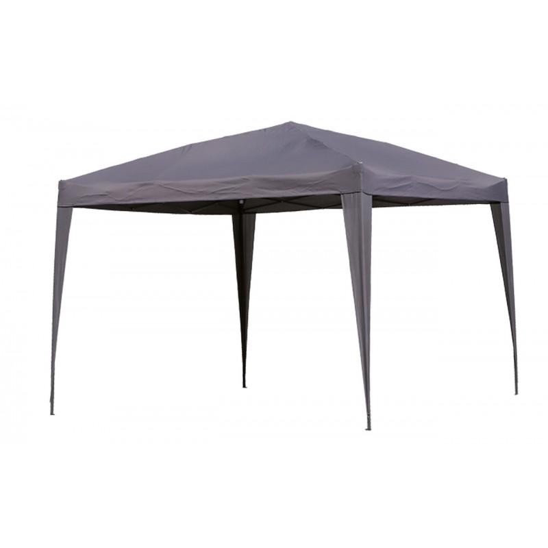 tonnelle grise parapluie 3x3 polyester pole vert montauban. Black Bedroom Furniture Sets. Home Design Ideas