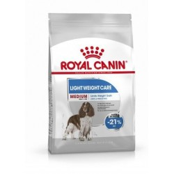 ALIMENT CHIEN MEDIUM LIGHT WEIGHT CARE 9KG