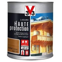LASURE HAUTE PROTECTION BOIS CHENE DORE 1L V33