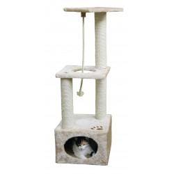 ARBRE   GRATTER PLATIN PRO 37 X 37 CM H109 CM BEIG