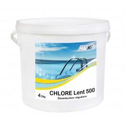 CHLORE LENT 90  GALET 500G MACXI 4.5KG