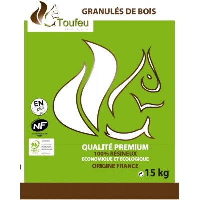pellet granule 100 bois sac 15kg pole vert mont de marsan. Black Bedroom Furniture Sets. Home Design Ideas