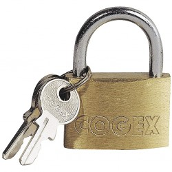 CADENAS LAITON + 2 clés 50 mm