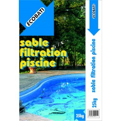 SABLE FILTRATION PISCINE 25KG