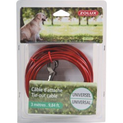 CABLE D'ATTACHE UNIVERSEL 3M
