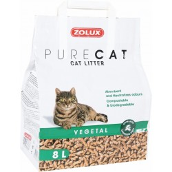 LITIERE PURECAT VEGETALE NATUREL 8L