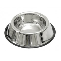 Gamelle inox support caoutchouc 450 ml
