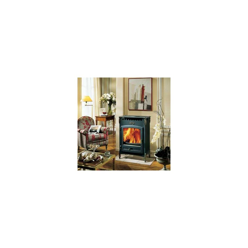 poele a bois godin le cerval 13kw buche 55cm 135kg pole. Black Bedroom Furniture Sets. Home Design Ideas