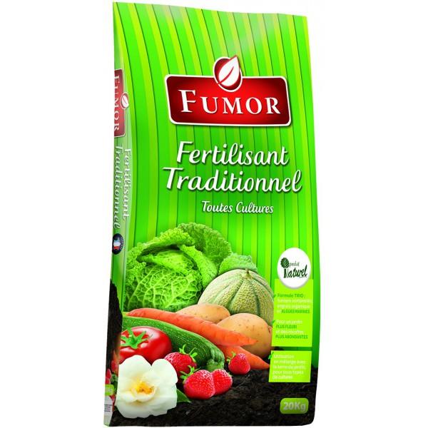 fertilisant traditionnel fumor 20kg pole vert mont de marsan