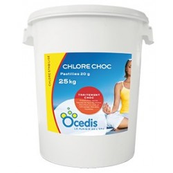 CHLORE CHOC 20G PASTILLLES OVY 25KG