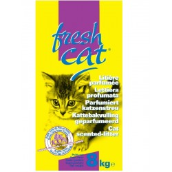 LITIERE CHAT FRESH CAT PARFUMEE GRANULES 8KG