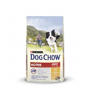 DOG CHOW ACTIVE CHICKEN & RICE 14KG