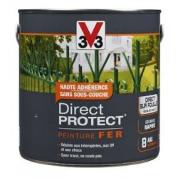 PEINTURE FER-DIRECT PROTECT BRILLANT-BLANC 2L V33