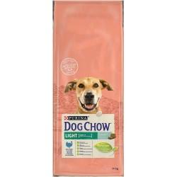 DOG CHOW LIGHT DINDE ET RIZ 14KG
