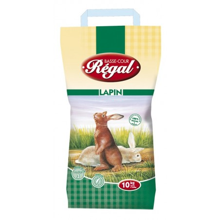 ALIMENT LAPIN REGAL GRANULE 10 KG