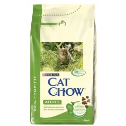 ALIMENT CHAT CAT CHOW ADULT LAPIN FOIE 1.5KG