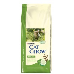 ALIMENT CHAT CAT CHOW ADULT LAPIN ET FOIE 15KG
