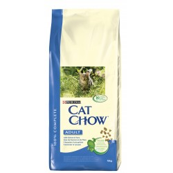 ALIMENT CHAT CAT CHOW ADULT THON ET SAUMON 15KG