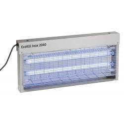 DESINSECTISEUR ELECTRIQUE ECOKILL INOX 2X20W 200M2