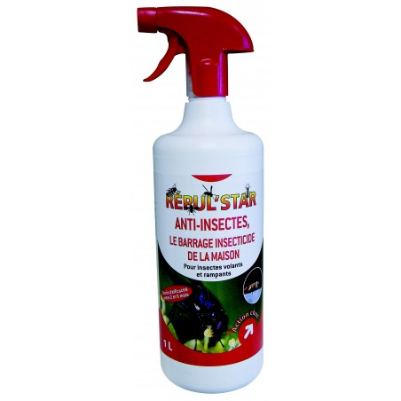 BARRAGE INSECTES REPUL STAR 1L