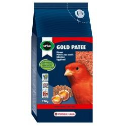 Pâtée aux œufs avec colorant rouge pour canaris, oiseaux indigènes et exotiques - 250g