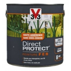 PEINTURE FER-DIRECT PROTECT BRILLANT-ANTHRACITE 500ML V33