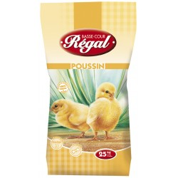 ALIMENT POUSSIN REGAL MIETTE 25KG