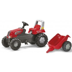 JOUET TRACTEUR A PEDALES ROLLY JUNIOR