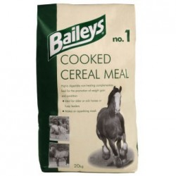 ALIMENT CHEVAL COOKED CEREAL MEAL 20KG