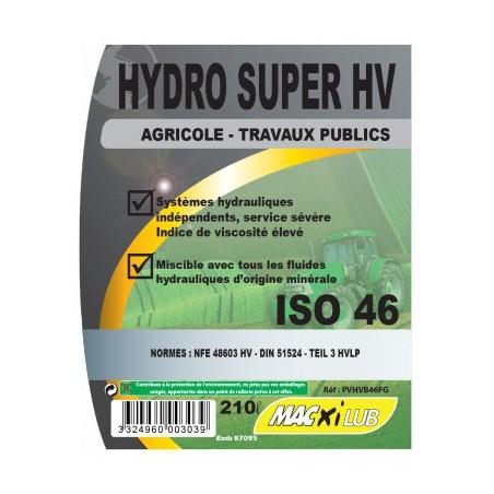 HUILE MACXI HYDRO HV 46 210L