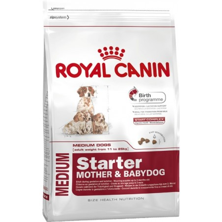 ALIMENT CHIEN MEDIUM STARTER M&B 12KG