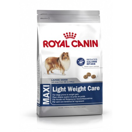 ALIMENT CHIEN MAXI LIGHT WEIGHT CARE 15KG