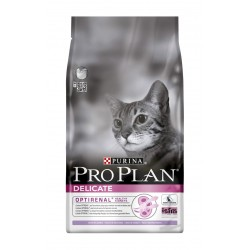 ALIMENT CHAT PRO PLAN CAT DELICATE TURKEY RICE 1.5KG