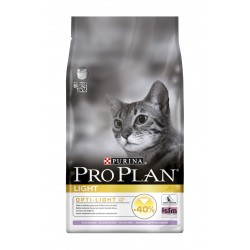 ALIMENT CHAT PRO PLAN CAT LIGHT TURKEY RICE 1.5KG