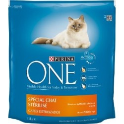 ALIMENT CHAT ONE STERILISED POULET 1.5KG