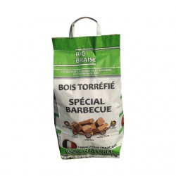 BOIS TORREFIE SPECIAL BARBECUE 5KG