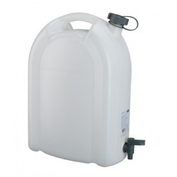 JERRYCAN ALIMENTAIRE ROBUSTE 20L + ROBINET