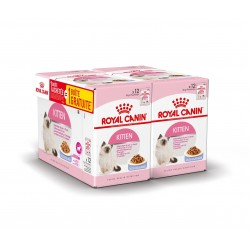 ALIMENT CHAT KITTEN INSTINCTIVE 12X85G
