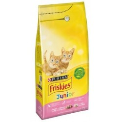 CROQUETTES CHAT FRISKIES JUNIOR POULET 2KG PURINA