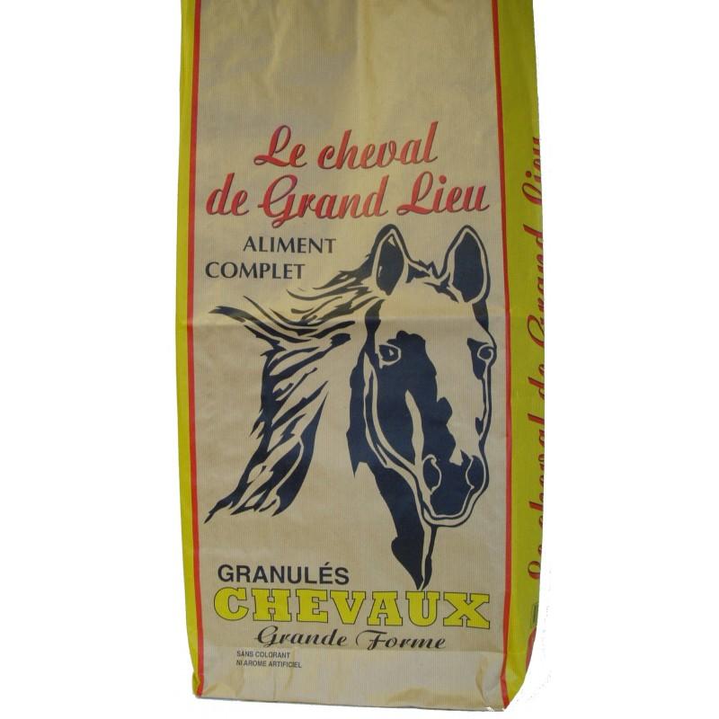 ALIMENT GRANULE CHEVAL DE GRAND LIEU SAC DE 25KG