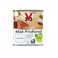 VERNIS INCOLORE MAT PROFOND 0,25L