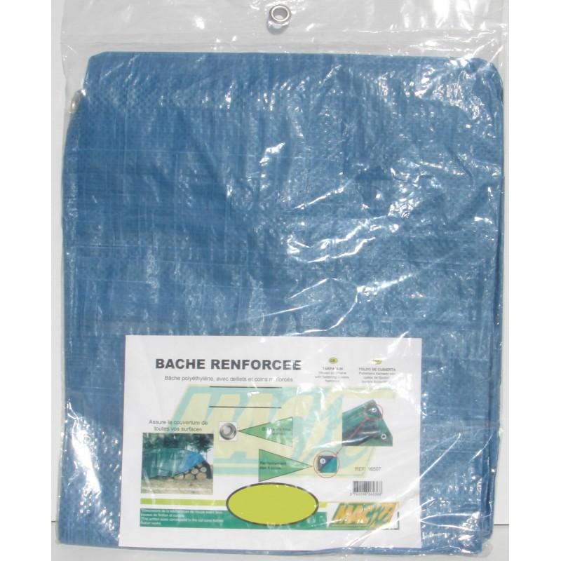 BACHE  5X8M PROFESSION 140G/M²