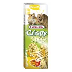 2 Sticks au popcorn et au miel pour Hamsters et Rats - 100 g