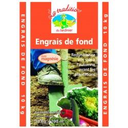 ENGRAIS DE FOND 10KG 00/10/30+6 MGO