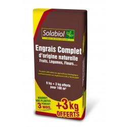 ENGRAIS COMPLET ORIGINE NATURELLE 9 3KG GRAT