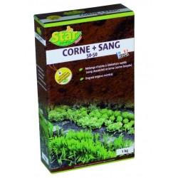 ENGRAIS BIO CORNE + SANG DESSECHE 1 KG