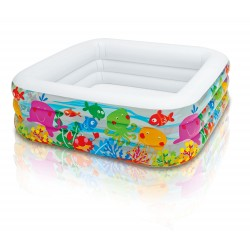 PISCINE 159X159X50CM GONFLABLE
