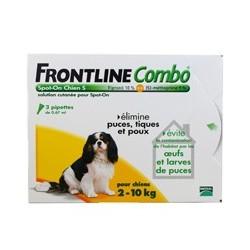 FRONTLINE COMBO CHIEN 2 10 KG X3